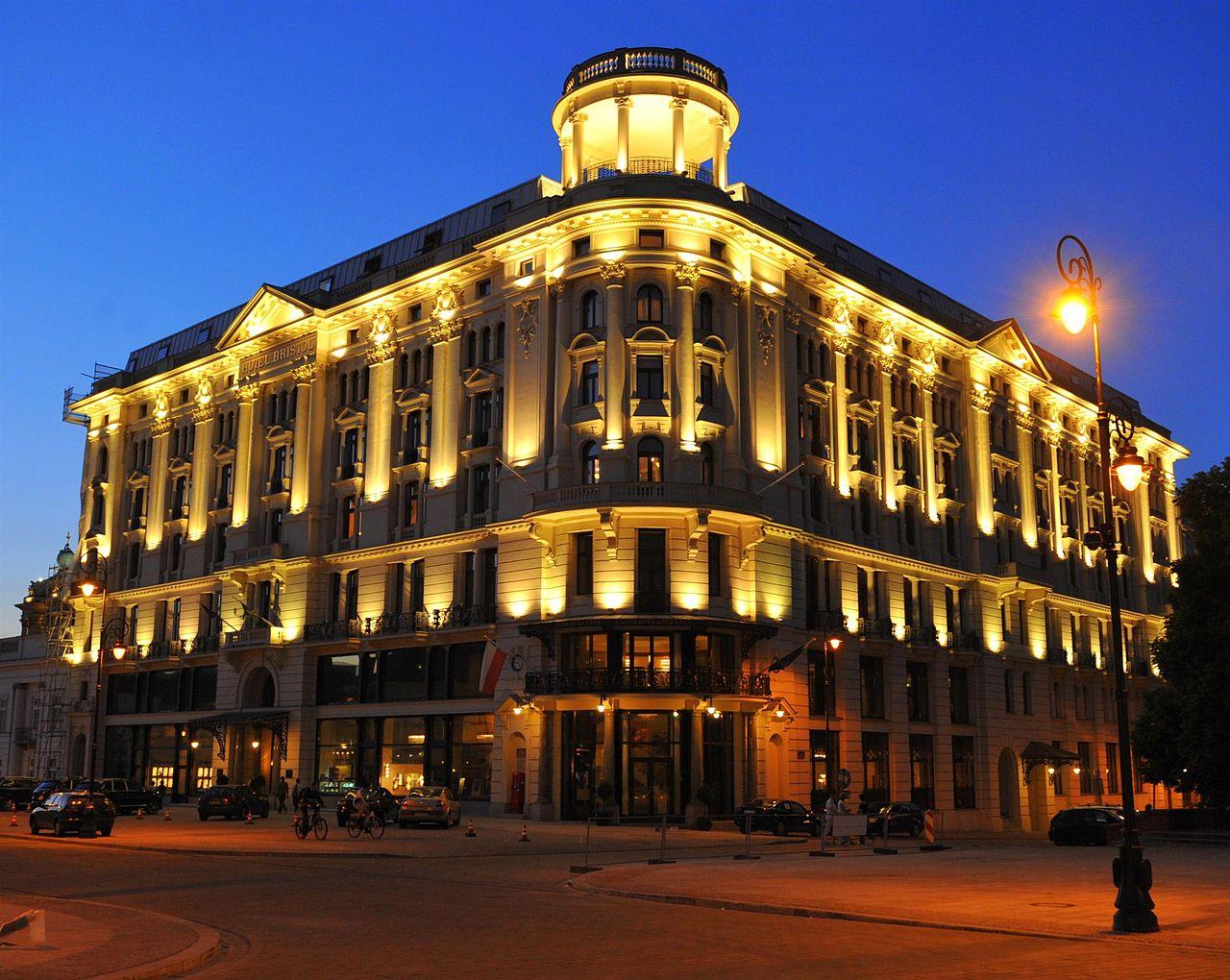 File hotel bristol w warszawie jpg wikimedia commons for Hotel france barcelona