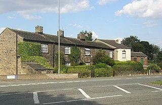 Hartshead Moor Top village in United Kingdom