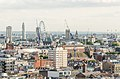 Houses of Parliament and the London Eye as viewed from Michael Cliffe Hose (2015) - panoramio.jpg