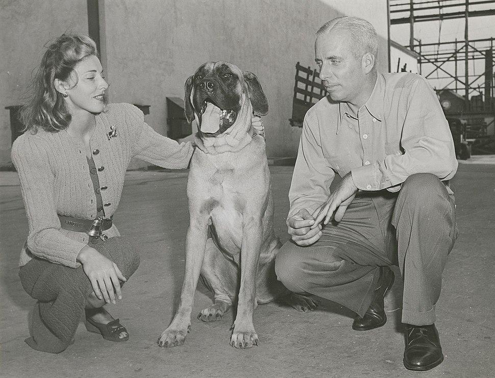 Howard Hawks With Slim And Dog