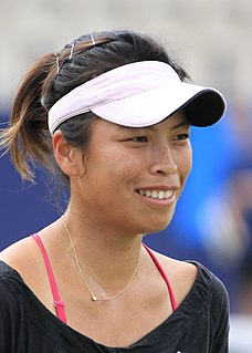 Hsieh Su-wei Taiwanese tennis player
