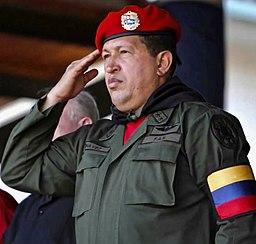 Hugo Chávez salute