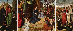 Portinari Altarpiece - The Portinari Altarpiece by Hugo van der Goes