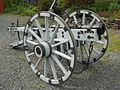 Hussite artillery 15th c. wrought iron breech-block cannon.JPG