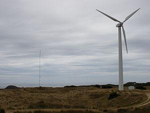 Huxley Hill Wind Farm - Image: Huxley Hill Wind Farm 2008