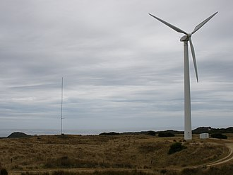 Huxley Hill Wind Farm - Image: Huxley Hill Wind Farm 2008