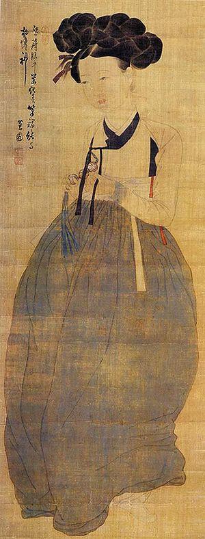 Sin Yun-bok - Image: Hyewon Miindo