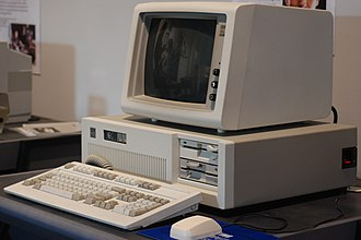 IBM Personal Computer/AT - Image: IBM PC AT