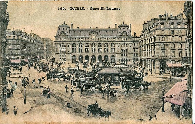Hotel Gare Saint Lazare