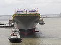 INS Vikrant during its christening ceremony (2).jpg