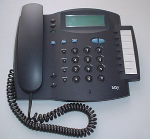 Basic Rate Interface - an ISDN phone