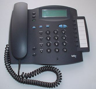 Integrated Services Digital Network - ISDN telephone