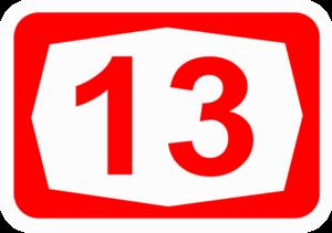 Highway 13 (Israel) - Image: ISR HW13