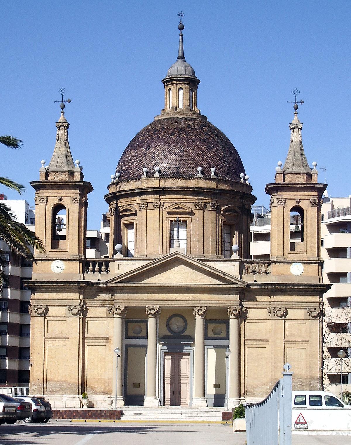 Iglesia de san fernando zaragoza wikipedia la - Arquitectura en zaragoza ...