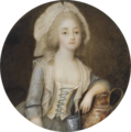 Ignazio Campana - A young lady disguised as a milkmaid.png