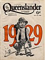 Illustrated front cover from The Queenslander, December 27, 1928 (7960422538).jpg