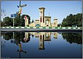 Imam Square, Badrud سینه خیز تو نیم لیتر آب، میدان امام، بادرود، اول جاده آق علی عباس - panoramio.jpg