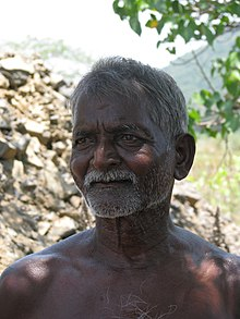 0fc37b08157 A farmer from Tamil Nadu in southern India with dark skin.
