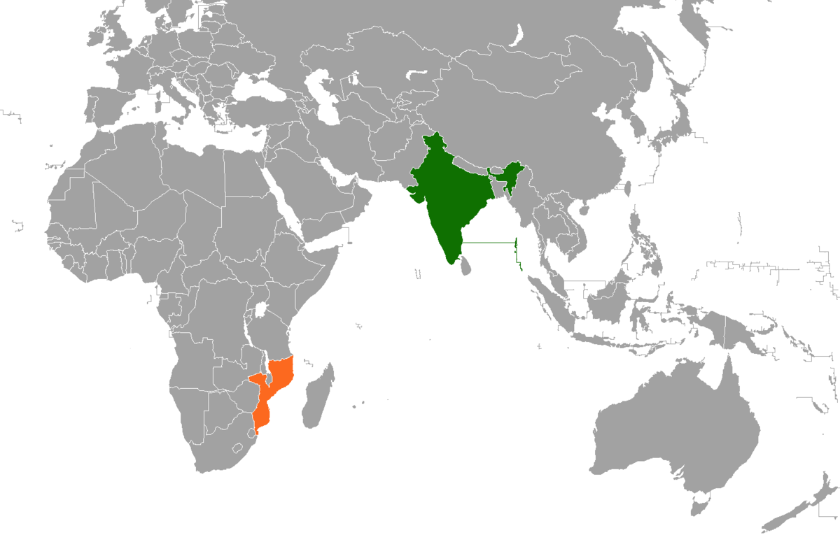 Resultado de imagem para india mozambique