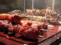 India style Tandoori chicken & porks (4042295675).jpg