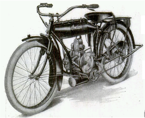 Indian Model O picture from April 1917 issue of Popular Mechanics.PNG