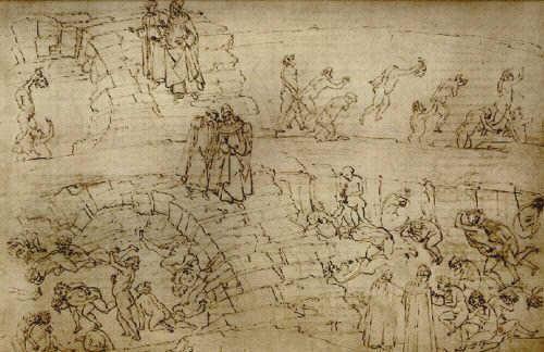 Inf. 29 Sandro Botticelli, alchimisti