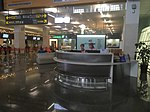 Information desk in Taipei Songshan Airport.jpg
