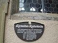Informationstafel an der Karmeliten Klosterkirche in Bad Neustadt an der Saale.jpg