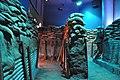Inside the life sized bunker diorama (24839604426).jpg