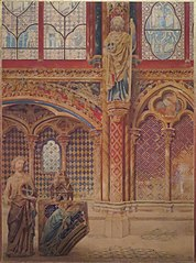 Intérieur de la Sainte-Chapelle