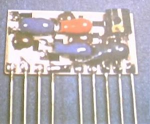 Semiconductor package -  A hybrid integrated circuit