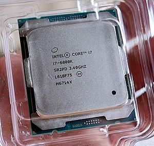 Broadwell (microarchitecture) - Intel i7 6800K