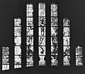 Interieur kloosterkerk, aanzicht gebrandschilderd glas-in-lood - Nijmegen - 20368471 - RCE.jpg