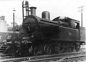 Dublin and South Eastern Railway - 35 Class 457 (ex-DSER No. 35) at Bray