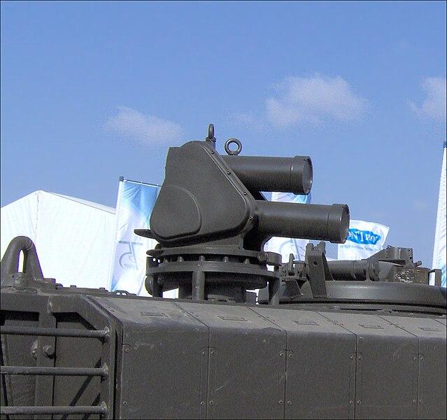 منظومة Iron fist درع المركبات الاسرائيلية الرهيب 639px-Iron_Fist_APS