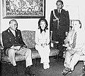 Isabel Perón con el general Anaya y el canciller Vignes.jpg