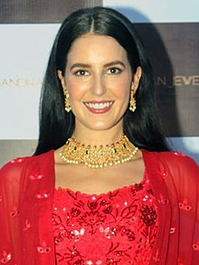 Isabelle Kaif snapped at a Jewellery event in Andheri (04) (cropped).jpg