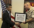 Ishikawa police chief retires, receives Certificate of Commendation from Marine Corps 150312-M-XW268-003.jpg