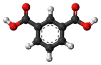 Isophthalic acid 3D ball.png