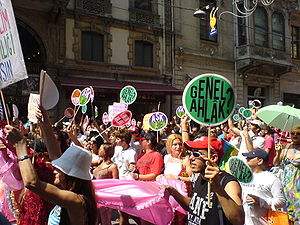 Istanbul Gay Pride Parade, 2008, Istiklal Stre...