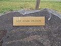 István Szép memorial stone, Kálvin Park, 2020 Százhalombatta.jpg