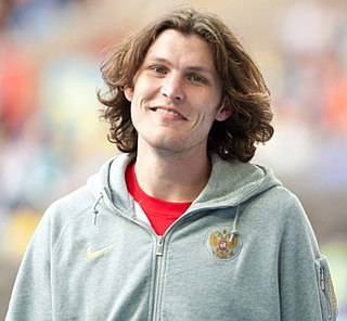 Ivan Ukhov Russian high jumper