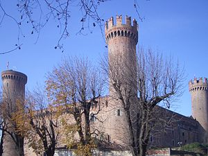 Ivrea - The castle (14th century).