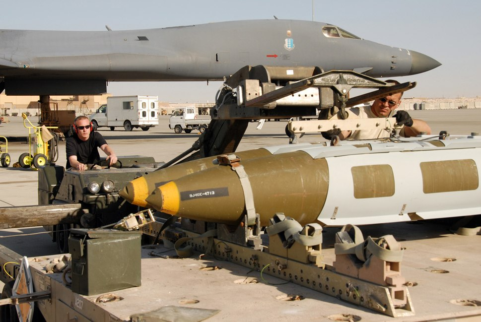 JDAM B-1B Lancer