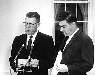 James Hagerty - James C. Hagerty and Pierre Salinger 6 December 1960