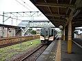 JRE E129 at Tsubame Station.jpg