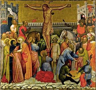 Jacobello del Fiore - Jacobello del Fiore, The Crucifixion, The Matthiesen Gallery, London