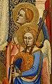 Jacopo di cione e bottega, altare di san pier maggiore, 1370-71, 05 angeli musicanti.jpg