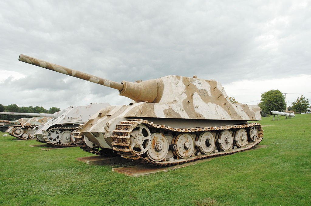 Where Is Porsche Made >> File:Jagdtiger, Ordnance Museum at Aberdeen Proving Ground ...