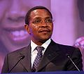 Jakaya Kikwete speaking at London Summit on Family Planning 2012 crop.jpg